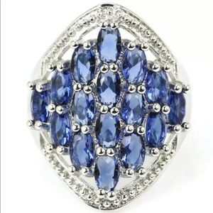 Jewelry - Sapphire Ring set in 925 silver